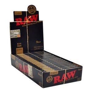 Raw Black 1/4