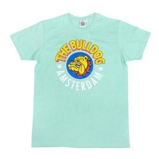 camiseta bulldog amsterdam turquesa
