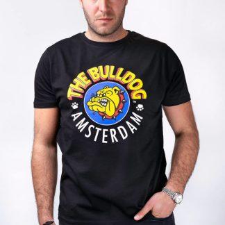 camiseta bulldog amsterdan negra