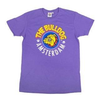 camiseta morada amsterdam bulldog